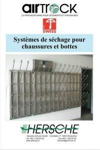 Catalogue-Systèmes de séchage pour chaussures