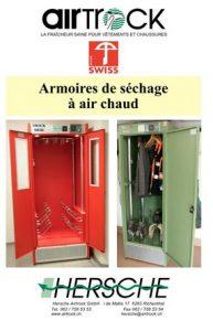 Catalogues de produits Hersche Airtrock armoires séchantes