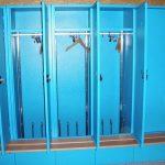 armoires-de-garde-robe-chauffantes-avec-banc