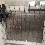 Schweizer Stiefeltrocknungssystem für 25 Paar